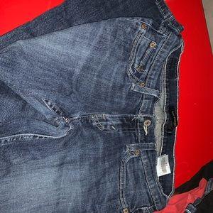 Too super low Levi jeans